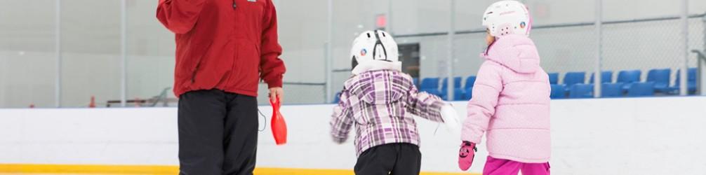 Public Ice Skating Season starts October 1 at Sunset Ice Rink